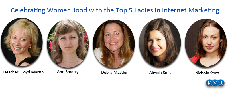 Celebrating Womanhood with Top 5 ladies in Internet Marketing