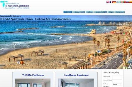 Tel Aviv Beach Apartments
