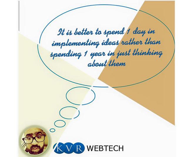 KVR Varun Sharma Motivational Quote on Success