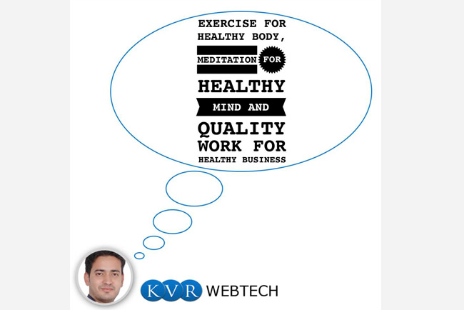 KVR Romit Malhotra Motivational Quote on Success