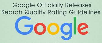Google Search Quality Raters Guidelines