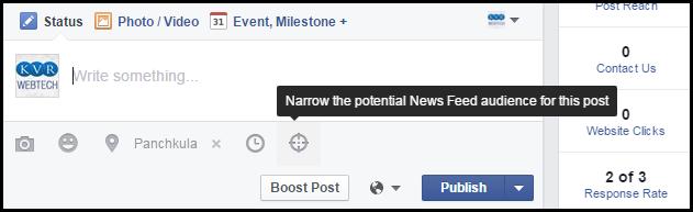 Facebook Audience Optimizatoin