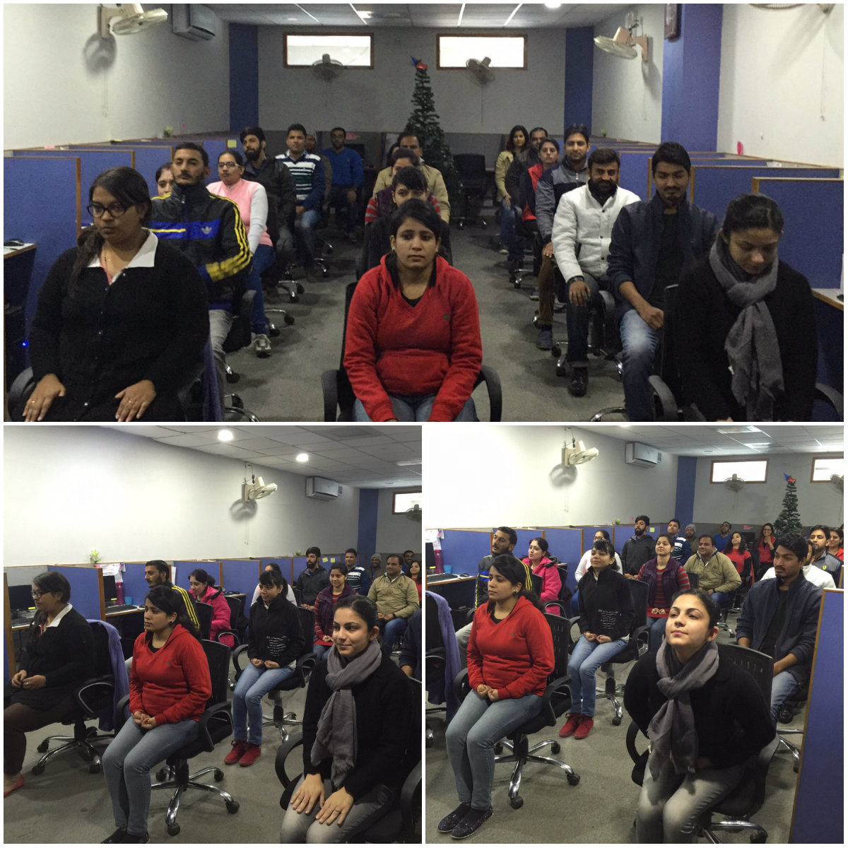 Daily Exercise at KVR Webtech