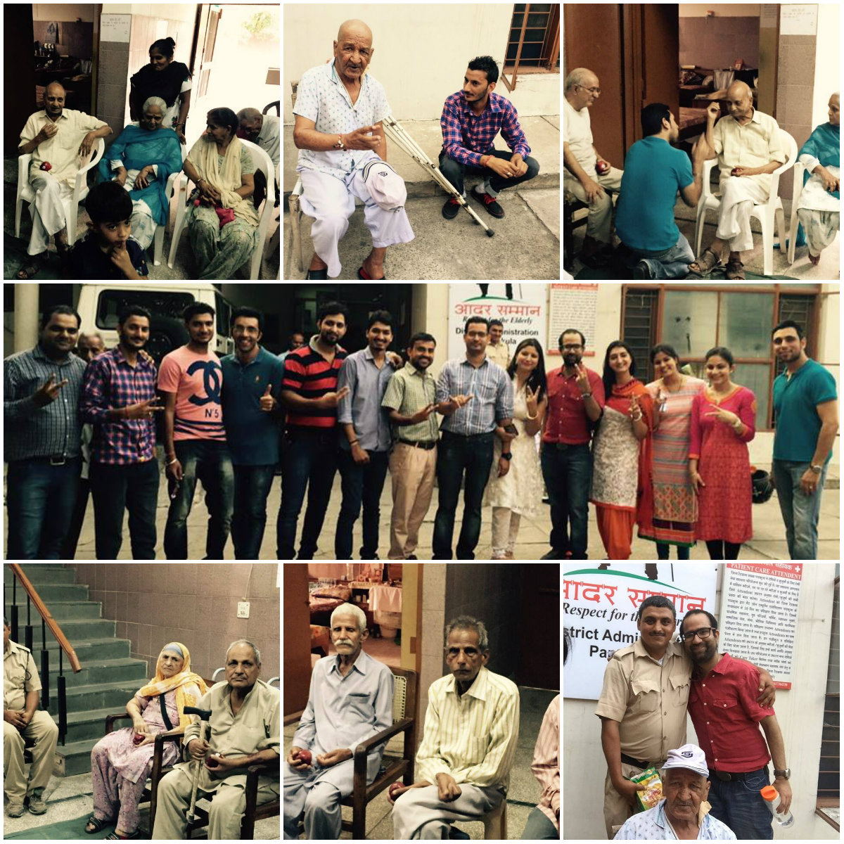 A Visit to Old Age Home