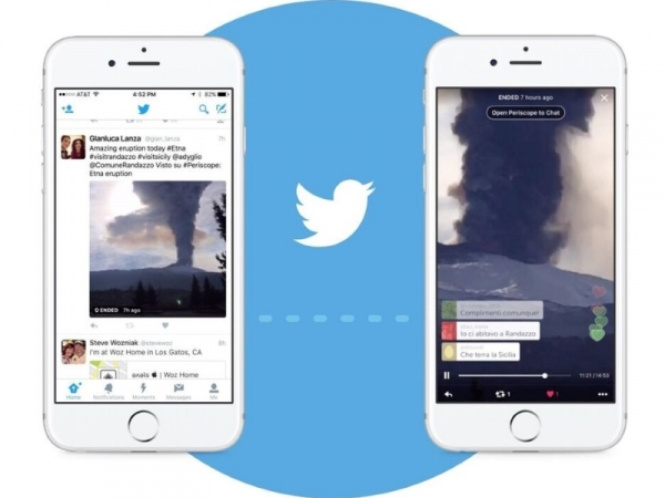 Twitter Brings Live Periscope Videos