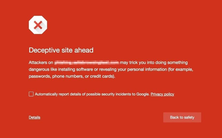 Deceptive Sites