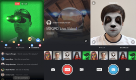 Go Live with MSQRD Filters!