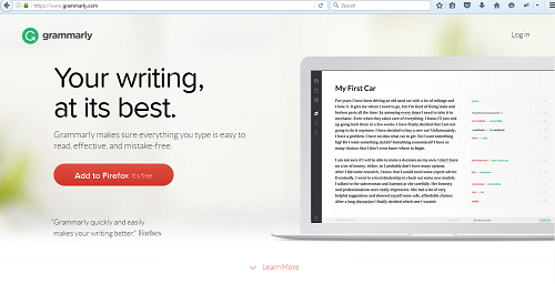 Grammarly Tool