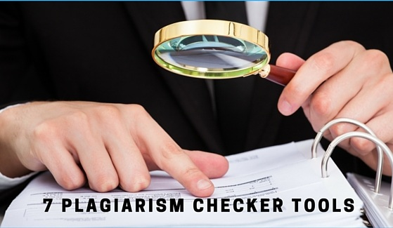 Tools to Check Plagiarism