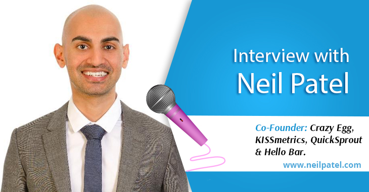 An Interview with Neil Patel