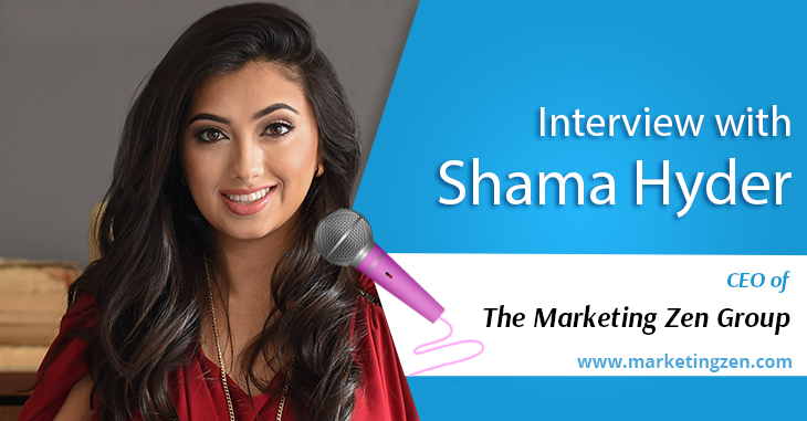 Interview with Shama Hyder from Marketing Zen