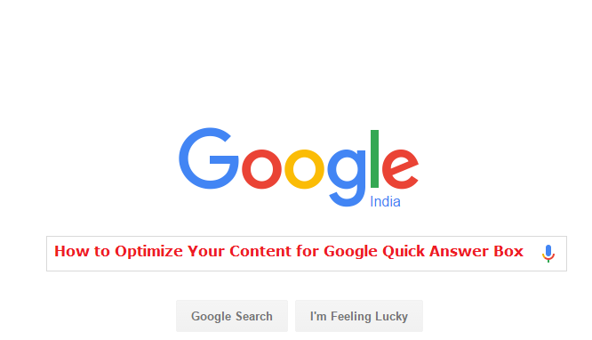how to get google answer box