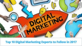 Top 10 Digital Marketing Experts and Keynote Speakers to Follow in 2017
