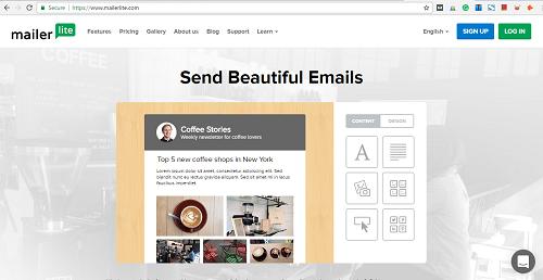 MailerLite- Email Marketing Tool