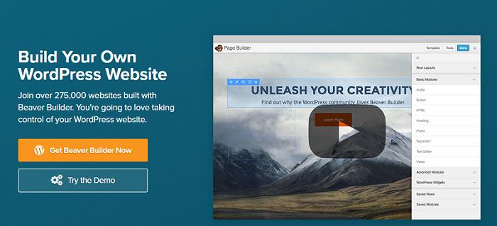 Beaver Builder Plugin for WordPress