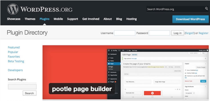 Pootle Page Builder for WordPress