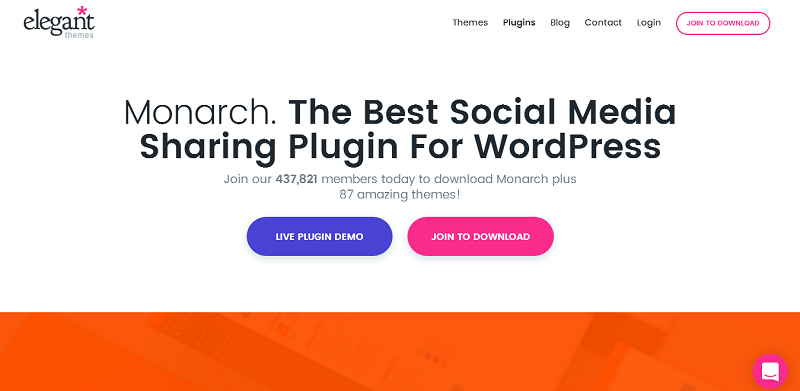 Monarch Social Sharing Plugin For WordPress