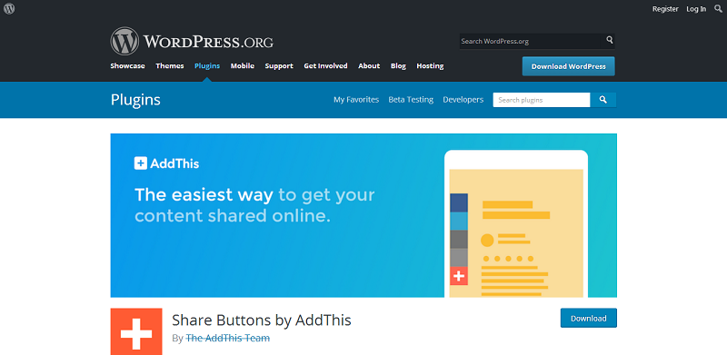 Share Buttons by AddThis
