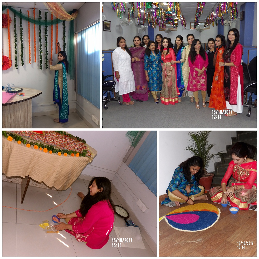 Diwali Preparations by KVRians