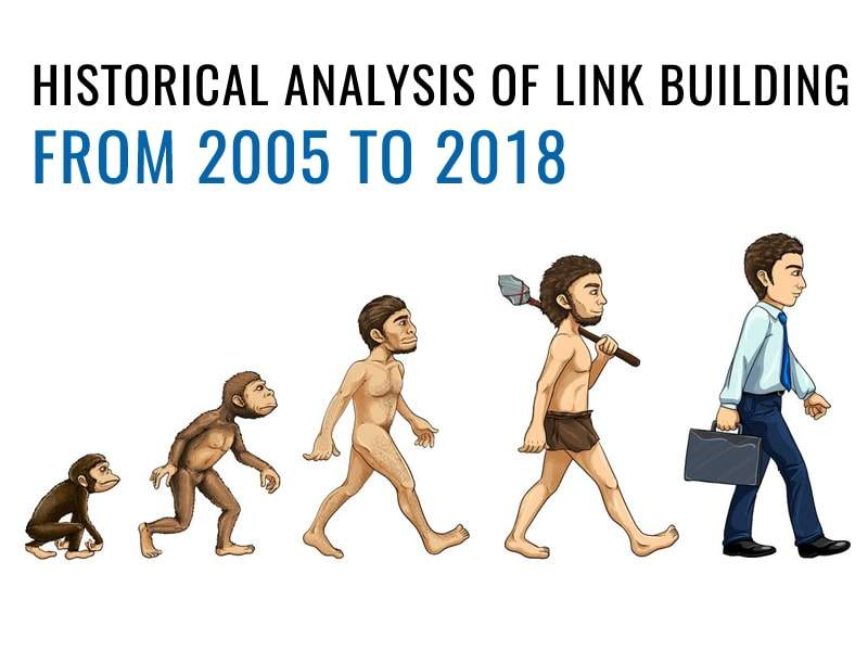 Historical Analysis of Link Building from 2005 to 2018: Experts View