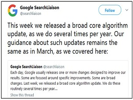 Google Broad Core Algorithm- A Virtuous or Vicious Cycle?