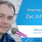 KVR Webtech in Conversation With Zac Johnson – An Affiliate Marketing Expert