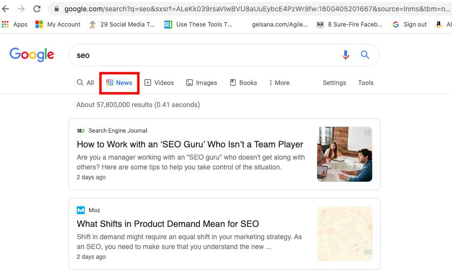 Google News and SEO